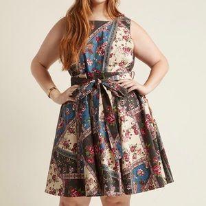 Modcloth Girl Meets Twirl Dress XL